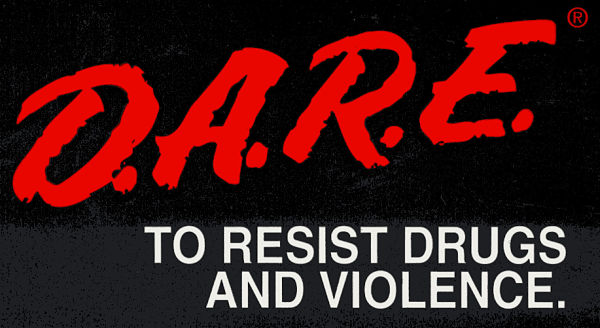 DARE to resist Drugs and Violence